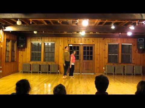 Stu Phillips & Karen Nelson Contact Improvisational Dance Duet Performance