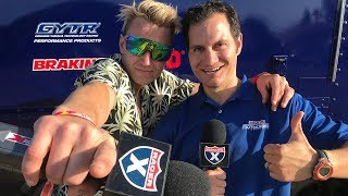 Justin Barcia joins Jason Weigandt on the Best Post-Race Show Ever ...