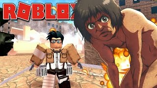 Roblox - INVASÃO DE TITANS ( Attack On Titan Downfall )