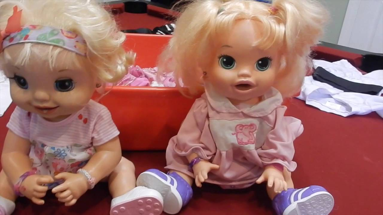 Baby Alives Get Halloween Costumes - YouTube