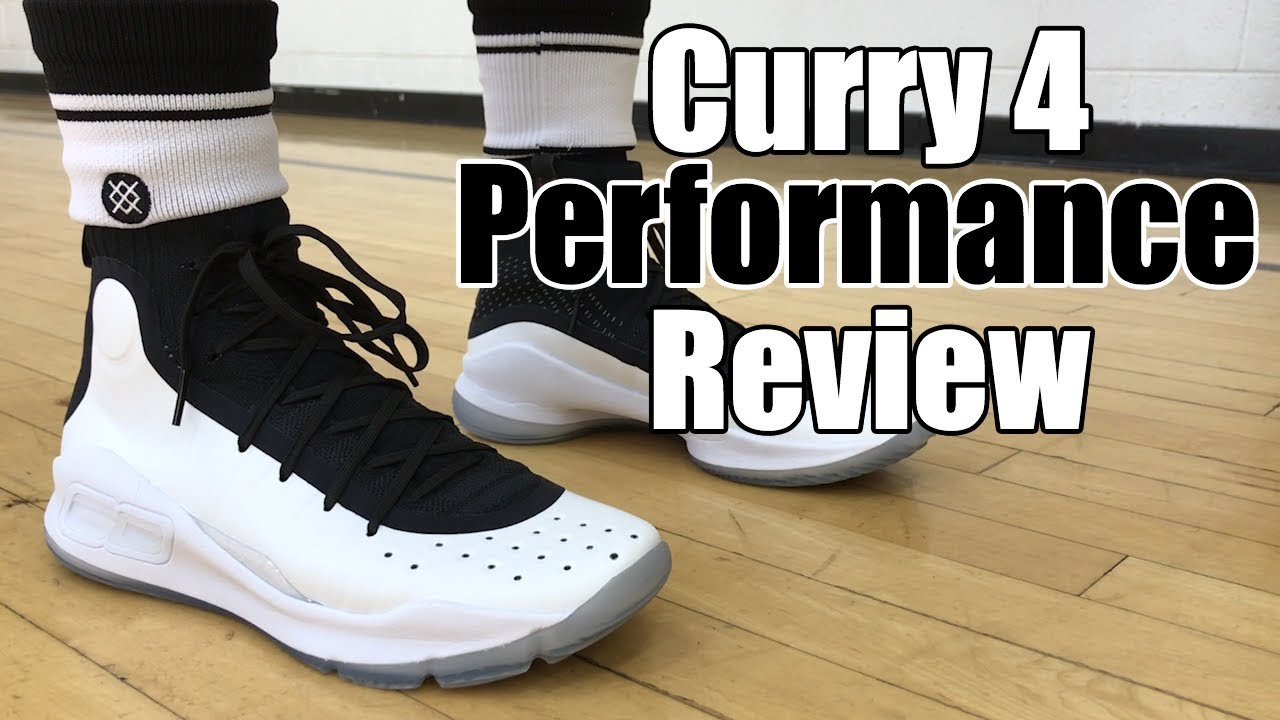 save off f1a79 0e6da UNDER ARMOUR CURRY 4 PERFORMANCE REVIEW