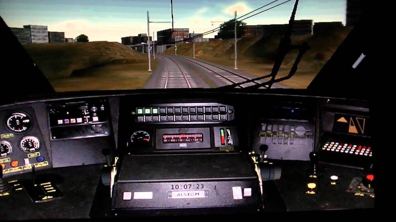 tgv voyage en cabine tgv simulateur ferroviaire entre marseille et aix youtube. Black Bedroom Furniture Sets. Home Design Ideas