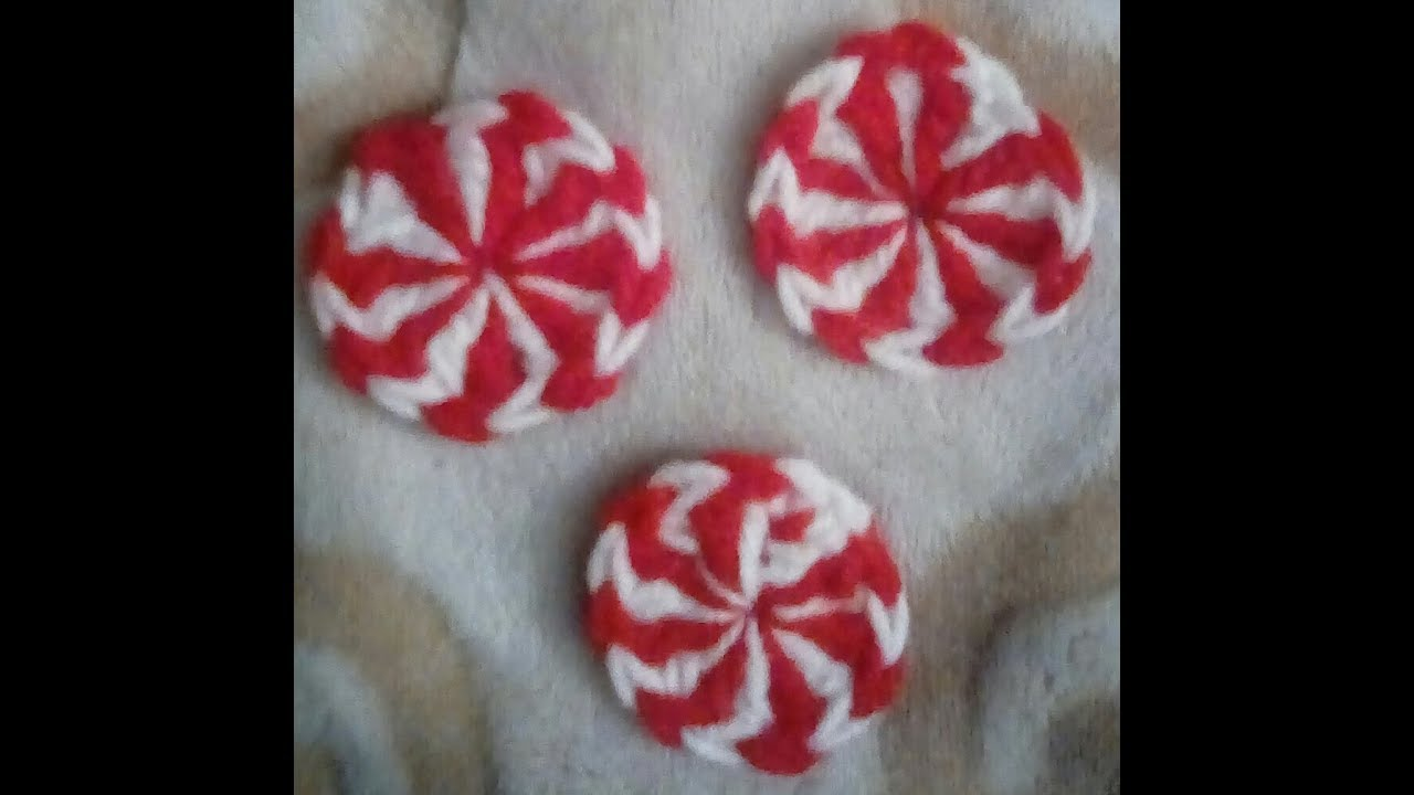 How To Crochet Starlite Peppermint Pattern Youtube