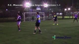JLEAGUE GIRONE A - SEDICESIMA GIORNATA - F.C. Maccabi vs Malusa Impronta Birraia
