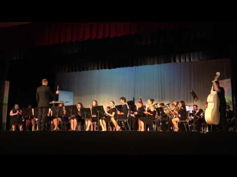 Absegami High School Concert Band 2017 Spring Concert - Phantom of the Opera (Soundtrack Highlights)