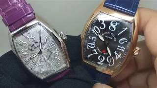【我狂我驕傲】FRANCK MULLER Crazy Hours 瘋狂跳時腕錶