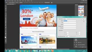 PSD to HTML email |  Slice PSD to html in photoshop