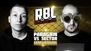 RBL: PARAGRIN VS SECTOR (КОМПЛИМЕНТАРНЫЙ, RUSSIAN BATTLE LEAGUE)