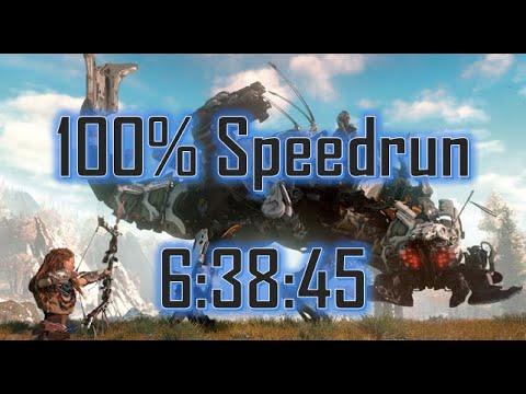 Horizon Zero Dawn Speedrun: 100% in 6:38:45 [World Record] thumbnail