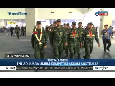 Lagi, TNI AD Juara Umum Lomba Menembak AASAM Di Australia