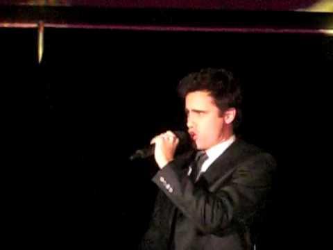 David Burnham - The Impossible Dream - Upright Cabaret At La Mirada Theatre