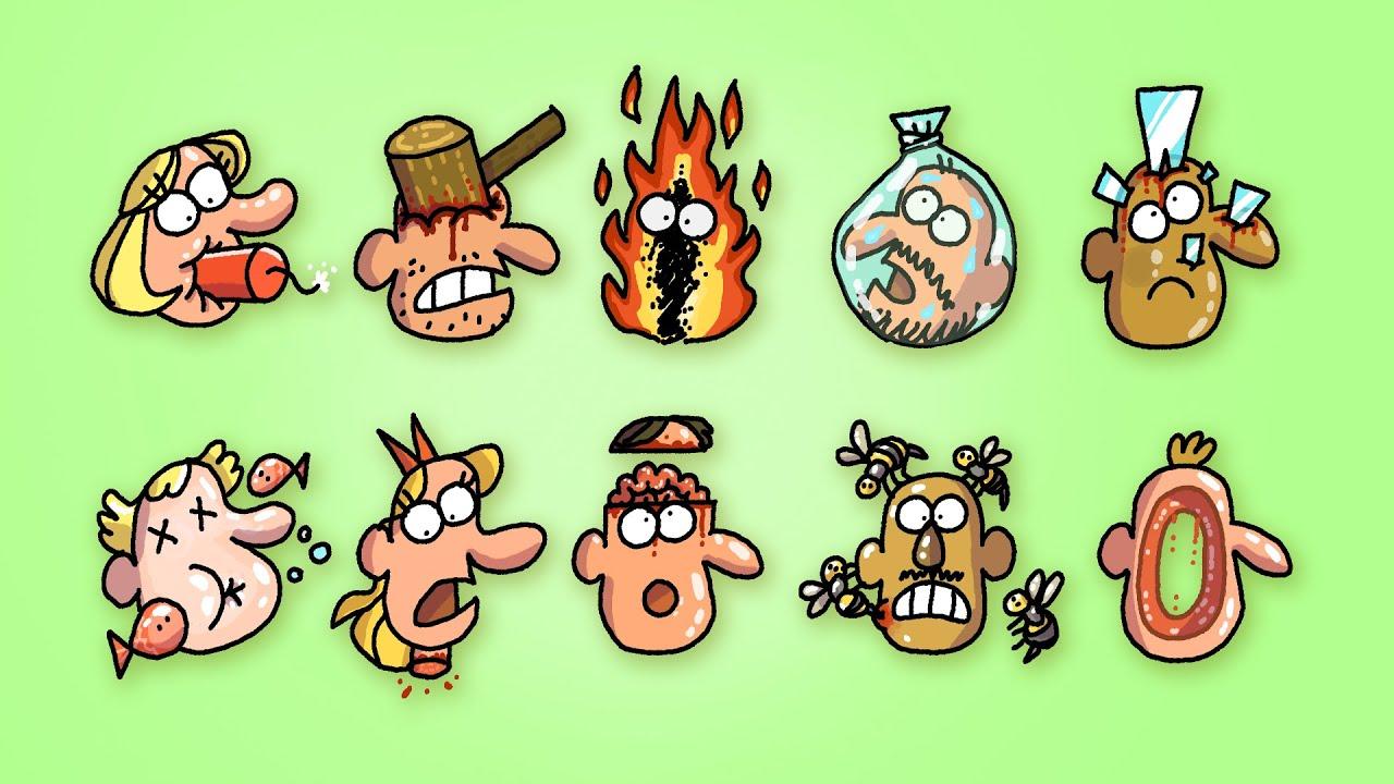 TOP 10 DEATHS by Cartoon Box | the BEST of Cartoon Box | Hilarious Cartoon Compilation