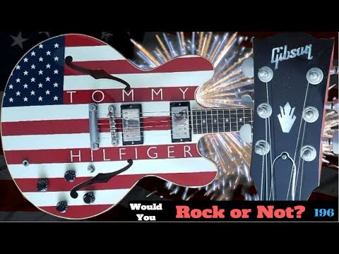 Does This Guitar Offend You? 2000 Gibson Tommy Hilfiger American Flag ES 335 | WYRON 197