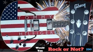 Does this Guitar Offend You? 2000 Gibson Tommy Hilfiger American Flag ES 335 | WRYON 196