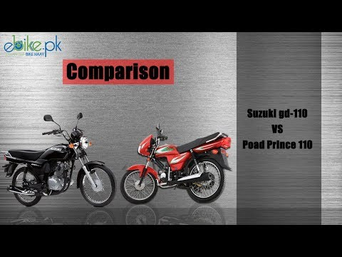 Suzuki GD 110 vs RP Jackpot 110 - Bike Comparison in Pakistan ebike.pk