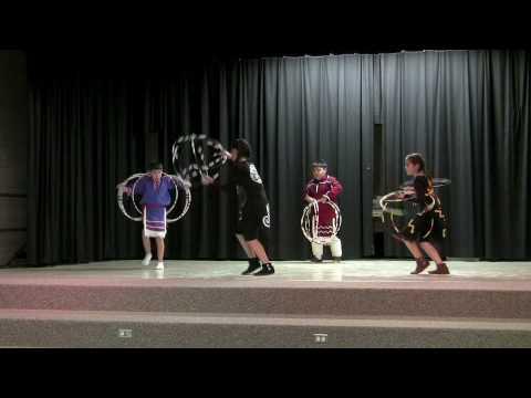 Loebel Native American Storytelling Festival Hoop Dance