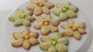 How To Make Sugar Cookies In Cute Flower Shapes
