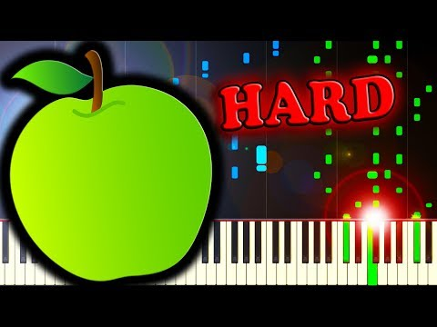 BAD APPLE!! - Piano Tutorial