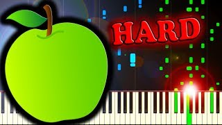 BAD APPLE!! - Piano Tutorial