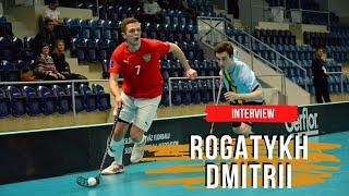 Rogatykh Dmitrii Interview Floorball in Saint Petersburg Russia