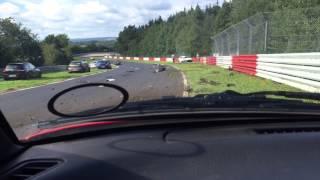 Crash Nurburgring 20-9-15 Nordschleife Original Footage (contains swearing). thumbnail