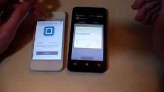 Сравнение: Lenovo A319 vs iPhone 4S (HD)