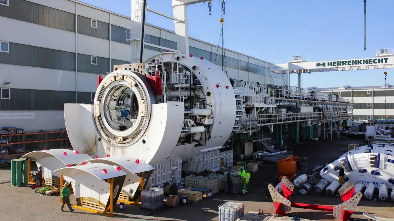 BBT SE: The journey of the TBM Virginia - part 1: Dismantling
