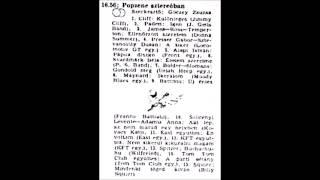 Popzene sztereóban. Szerkesztő: Göczey Zsuzsa. 1983.03.31. 3.műsor. 16.56-18.00.