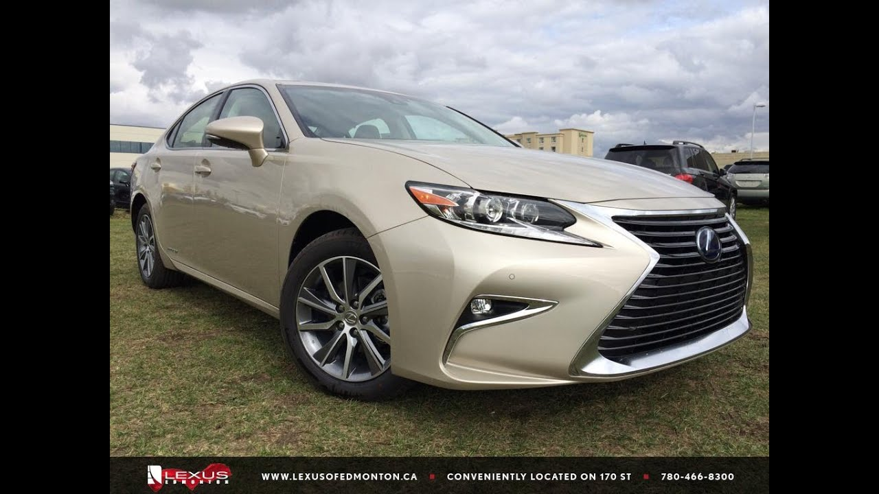 2016 Lexus Es 300h >> 2016 Lexus ES 300h Hybrid Review - YouTube
