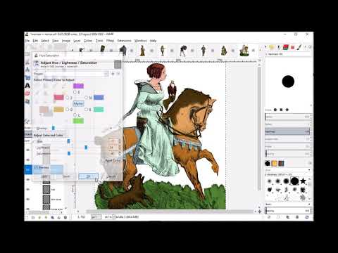 Renaissance Characters Tutorial: Changing Colors