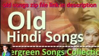 Old song zip file (85) songs (1960-1985)