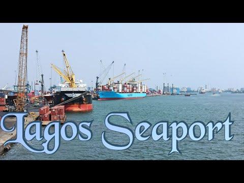 Lagos Seaport,Nigeria.