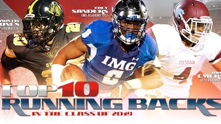 Top 10 Running Backs from the Class of 2019