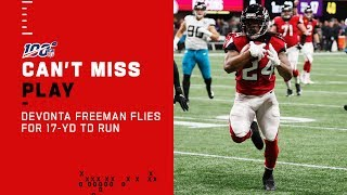 Devonta Freeman Flies Downfield for an Early TD