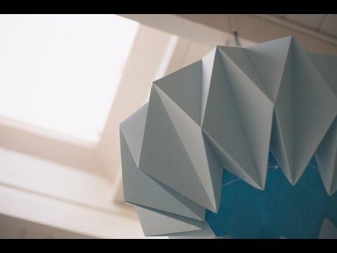 Diy origami lamp shades youtube diy origami lamp shades aloadofball Gallery