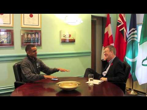 Jim Watson (Mayor of Ottawa) Interview - Moose on the loose