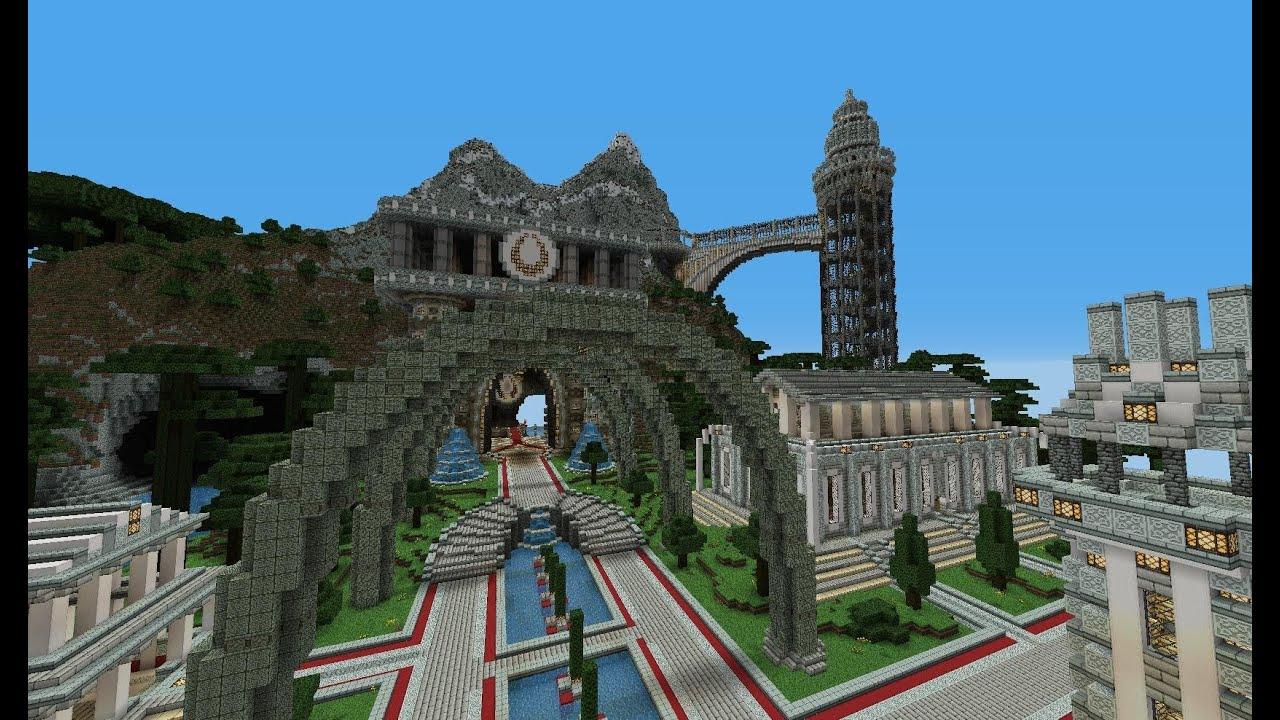 Fyreuk mage city Minecraft | Minecrastinate | Minecraft ...