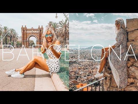 BARCELONA TRAVEL VLOG & GUIDE 2018 - COME TO BARCELONA!