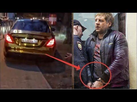 А. Емельяненко задержали пьяного за рулем