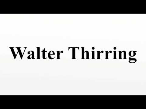 Walter Thirring