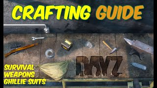 DayZ Beginners Crafting Guide for Xbox, PS4, & PC