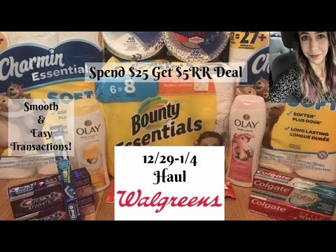 WALGREENS 12/29-1/4 HAUL | Super Easy & Cheap Deals! 🔥🔥🔥