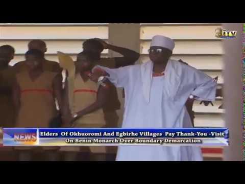 Demarcation: Okhuoromi, Egbirhe elders commend Benin Monarch