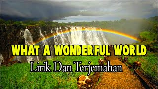 Gambar cover Best Voice Cover Lagu Wonderful World Louis Amstrong | Lirik Dan Terjemahan
