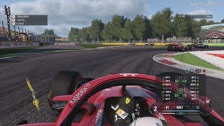 F1 2018 - 25% Race at Monza (+ Formation Lap & Safety Car)