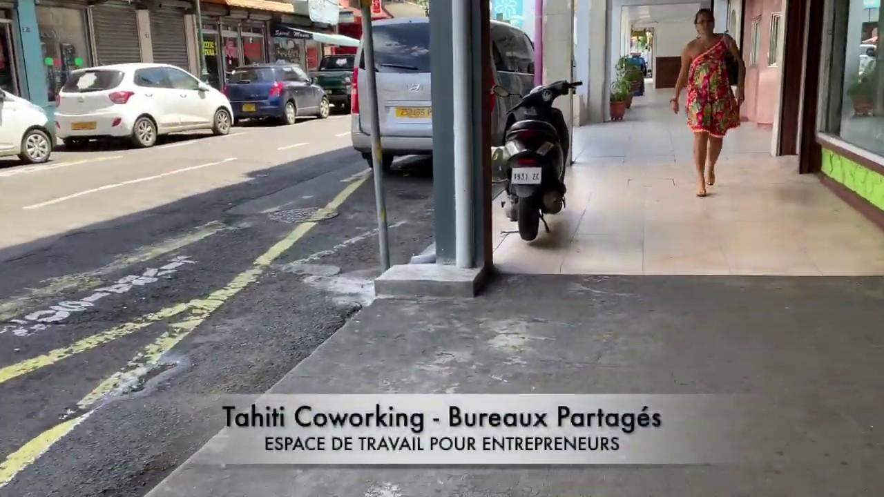 Tahiti coworking bureaux partagés en centre ville de papeete