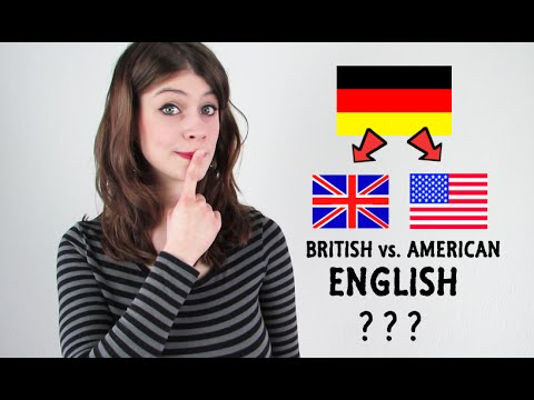 Why Do GERMANS speak AMERICAN ENGLISH?