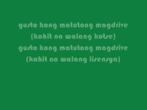 Eraserheads- Overdrive Lyrics
