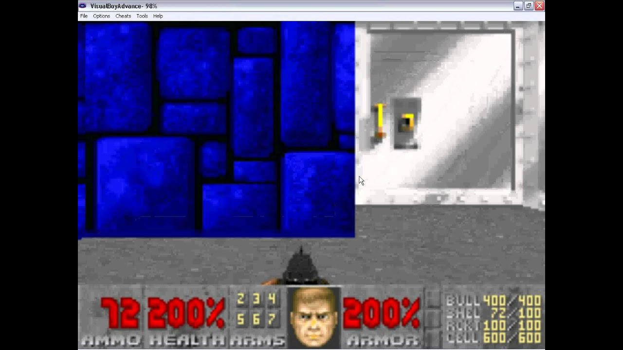 Doom 2 GBA map31:Wolfenstein (secret map)