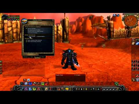 Addons Faction & Tabard Addict (World Of Warcraft)